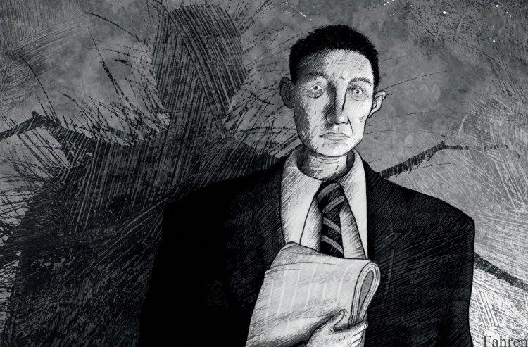 "Stunning graphic novel retelling Kafka's ""The Metamorphosis"" sold to Brazil at auction"